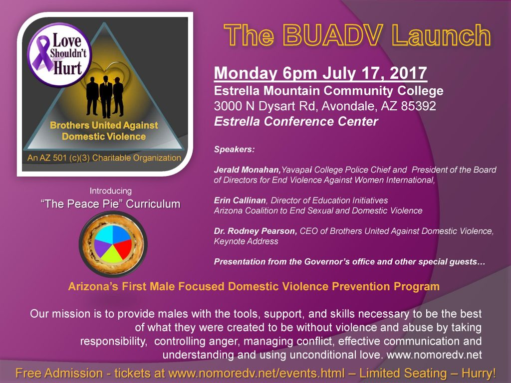 The Brother's United Against Domestic Violence Launch